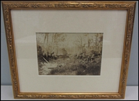 Lot 108 [2 of 2]:Framed Prints: Two Artcare Archival System professionally framed prints (350x300mm) showing Healesville area scenes, very fine condition.