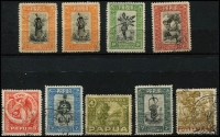 Lot 1415 [3 of 3]:1932-40 Pictorials ½d (x2) to £1 set SG #131-45, 1/- tonespot, fine/very fine used overall, Cat £450. (16)
