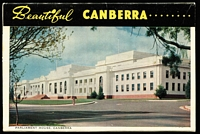 Lot 148 [2 of 13]:Australia with RP photo types including Rose Series, lots of 1950s-60s view folder types including for Snowy Mountains, Canberra, Brisbane & Surfers' Paradise, Victoria folder types with 5d frankings including for Lakes Entrance, Marlo, Mildura, etc; also a few foreign cards.