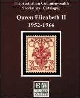 Lot 151:Australia - Brusden White Catalogues: comprising 'Kangaroos' (2013), King George V (2007), Queen Elizabeth II (2006), well used pre-loved condition. (3)