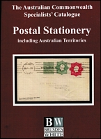 Lot 113:Australia - Postal Stationery: ACSC 'Postal Stationery including Australian Territories' by Kellow et al, 400pp, published by Brusden White (2013), Retail $225. As new.