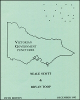 Lot 149:Australia: 'Victorian Government Punctures' by Neale Scott & Bryan Toop (5th Edn, Dec 1993), 54pp spiralbound. Fine condition.
