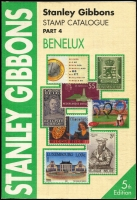 Lot 41:Benelux - SG Catalogue (Part 4): published by Stanley Gibbons (5th Edn, 2003), 485pp softbound, very good condition.