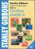 Lot 173:Central America - SG Catalogue (Part 15): published by Stanley Gibbons (3rd Edn, 2007), 410pp large format, softbound, as new.