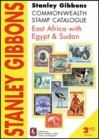 Lot 177:East Africa With Egypt & Sudan - SG Catalogue: published by Stanley Gibbons (2nd Edn, 2010), 173pp softbound, very fine.