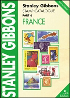 Lot 182:France - SG Catalogue: published by Stanley Gibbons (5th Edn, 2001), 393pp large format, softbound, minor blemishes, fine.