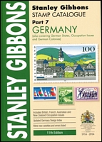 Lot 184:Germany - SG Catalogue (Part 7): published by Stanley Gibbons (11th Edn, 2014), 383pp softbound, as new.