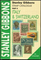 Lot 187:Italy & Switzerland - SG Catalogue (Part 8): published by Stanley Gibbons (6th Edn, 2003), 485pp softbound, very good condition.