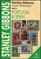Lot 193:Portugal & Spain - SG Catalogue (Part 9): published by Stanley Gibbons (5th Edn, 2004), 547pp softbound, minor bends, very good condition.