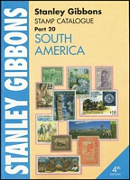 Lot 198:South America - SG Catalogue (Part 20): published by Stanley Gibbons (4th Edn, 2008), 514pp large format, softbound, as new.