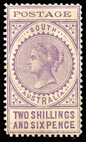 Lot 812 [1 of 2]:1902-04 Thin 'POSTAGE' Perf 11½-12½ 3d to 10/- mint, various printings/shades between SG #268-82 on hagner with 3d x2, 4d x5, 6d x4 (including pair & P12 6d value 15mm), 8d x4 including marginal pair, 9d x2, 10d x3, 1/- x3, 2/6d x2 (one is scarce pale violet shade), 5/- & 10/-, generally fine/very fine mint, Cat £850+. (27)