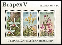 Lot 1163 [1 of 8]:Orchids: 'A' to 'C' countries selection of sets, part-sets, odd values & M/Ss featuring orchids, on stockcards with Gibbons catalogue numbers identified on reverse, odd tone, some mounted, mostly fresh MUH. (few 100s)