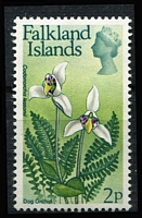 Lot 1164 [3 of 7]:Orchids: 'D' to 'G' countries selection of sets, part-sets, odd values & M/Ss featuring orchids including Falklands 1968 Flowers long set to £1 and 1971 Surcharge set, all on stockcards with Gibbons catalogue numbers identified on reverse, odd tone, some mounted, mostly fresh MUH. (few 100s)