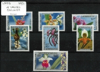 Lot 1165 [2 of 9]:Orchids: 'H' to 'M' countries selection of sets, part-sets, odd values & M/Ss featuring orchids in icluding Haiti 1961 Scouts Conference 20c + 25c Inverted overprint, Indonesia 1977 & 1978 Orchids sets + M/Ss, Laos 1971 set, etc, all on stockcards with Gibbons catalogue numbers identified on reverse, odd tone, some mounted, mostly fresh MUH. (few 100s)