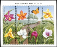Lot 1431 [2 of 4]:Orchids: 'A' to 'C' countries selection of sets, part-sets, odd values & M/Ss including Antigua & Barbuda 1990 'EXPO' set & M/Ss, 1997 Orchids set of 22 plus M/Ss, Barbados 1974 set of 18, Belize 1987 set x2, etc; many items identified by Gibbons catalogue reference, mostly fresh MUH. (few 100s)