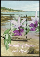 Lot 1432 [1 of 8]:Orchids: 'D' to 'G' countries selection of sets, part-sets, odd values & M/Ss including Gambia 2001 set & M/Ss, Ghana 2001 African Orchids & M/Ss, Grenada 2000 set & M/Ss, Guyana 1990 Birds, etc; items identified by Gibbons catalogue reference, mostly fresh MUH. (few 100s)