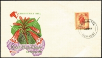 Lot 647:Collinridge Rivett 1/6d Christmas Bells tied by Parramatta (NSW) '3FE60' FDI datestamp to illustrated FDC, fine unaddressed.