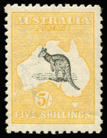 Lot 531 [1 of 2]:2d to 5/- Set well centred with good perfs, 6d heavyish hinge, fine mint overall, Cat $4,500.