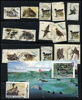 Lot 111 [2 of 4]:Array on Hagners predominantly Australia with some revenues, plus Wildlife Stamps to $15, Hutt River Province including two covers, etc; also NZ ½d Honey Seal. (few 100s)