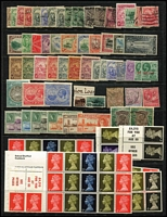 Lot 9 [4 of 4]:British Commomwealth array on Hagners mostly QV-early QEII era with Barbados, Burma, GB, India & States, St Helena, etc; some useful pickings, condition variable, mostly fine. (few 100s)