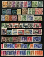 Lot 9 [1 of 4]:British Commomwealth array on Hagners mostly QV-early QEII era with Barbados, Burma, GB, India & States, St Helena, etc; some useful pickings, condition variable, mostly fine. (few 100s)