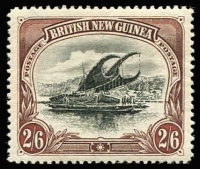 Lot 1526 [1 of 2]:1901-05 British New Guinea Wmk Horizontal ½d to 2/6d set SG #1-8, very fine mint, Cat £850. Premium quality. (8)
