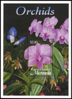 Lot 1434 [2 of 5]:Orchids: 'M' to 'R' countries array of sets, part-sets, odd values & M/Ss including selections from Malawi, Malaysia, Maldives, Marshall Is, Micronesia, Montserrat, Nevis, New Zealand, Nicaragua, Palau, PNG, Portugal, Romania, etc; many items identified by Gibbons catalogue reference, mostly fresh MUH. (few 100s)