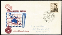 Lot 541:Royal 1964 £2 King tied by Brisbane '26AUG64' FD datestamp to illustrated FDC.