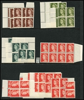 Lot 303 [1 of 6]:1960s-90s accumulation in ringbinder, Face Val $230+.