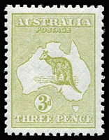 Lot 559:3d Olive Die I BW #13, very well centred, MUH, Cat $175.