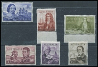 Lot 290 [3 of 3]:1938-66 Selection with 1938 Robes Thin Paper 5/-, 10/- & £1 MLH, 1949-61 Arms 5/- to £2 MLH, 1963-66 Navigators 4/- to £2, 10/- & £2 MLH other values MUH. (13)