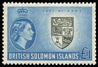 Lot 1441 [1 of 5]:British Commonwealth 1953-67 Mint Sets Selection comprising British Solomons 1956 to £1, 1963-64 Wmk Change to 2/6d, 1965 to £1, 1966-67 Surcharges Wmk Sideways to $2, Cocos 1963 to 2/3d (MUH), Ghana 1957-58 Opts to 10/-, Jamaica 1956-58 to £1, 1962 Opts to £1 & 1963-64 Wmk Change to 3/-, Nauru 1954 to 5/- & 1966 to $1, Samoa 1967 Birds to $4 (MUH), Tonga 1953 to £1, fine mint. Cat £500. (166)
