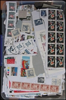 Lot 99:Scandinavia 1.8kg on Paper cut from incoming philatelic mail from last decade or so, with selections from Denmark, Finland, Norway & Sweden, plus some older issues. (Many 100s)