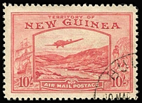 Lot 1068 [1 of 3]:1939 Bulolo Air ½d to £1 set SG #212-25, fine/very fine used. Cat £850. (14)