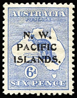 Lot 1388:1915-16 Kangaroos 1st Wmk Watermark inverted SG #78w, well centred, mint. Cat £300. Scarce.