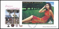 Lot 1398:2001 Fragrances $3 M/S SG #MS766 Imperforate tied to FDC by pictorial Parfum '29/JUNE/2001' FD cancel. Rare.