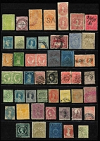 Lot 368 [3 of 3]:Assortment on three Hagners with imperfs, revenues, useful mint oddments, etc. Well worth closer inspection. (150+)