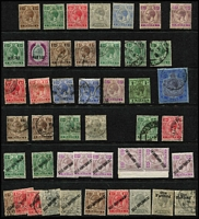 Lot 66 [3 of 4]:Malta 1880s-1930s Selection with QV 1885 Crown CA 1d, 2d, 2½d (toned) & 4d mint plus 1/- used, KEVII 1904-14 to 1/- (both) used, KGV 1926-27 1/6d, 2/6d & 3/- mint, 1928 Overprints to 3/- mint, 1930 to 2/6d mint, condition variable but mostly fine. (200+)