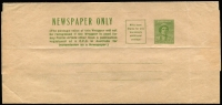 Lot 761 [1 of 2]:1938-41 1d Green QE Setting 1 BW #W20 unused and postally used, Cat $200. (2)