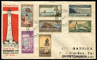 Lot 6 [2 of 9]:Australasia & Brirish Commonwealth mostly FDCs including AAT 1950s, Christmas Is 1958 set, New Zealand various 1940-60s, Malta, GB 1957 Jamboree illustrated; also few Australia aerogram FDI, others etc, plus some odd stamp packets. (approx 160 items).