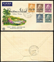 Lot 6 [1 of 17]:Australasia & Brirish Commonwealth mostly FDCs including AAT 1950s, Christmas Is 1958 set, New Zealand various 1940-60s, Malta, GB 1957 Jamboree illustrated; also few Australia aerogram FDI, others etc, plus some odd stamp packets. (approx 160 items).