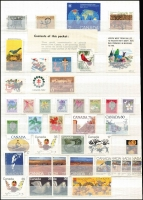 Lot 1028 [4 of 9]:Canada 1880s-1980s fragmentary mostly used array in two stockbooks, some modest pickings, condition is rather mixed. (Few 100s)