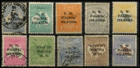 Lot 391 [1 of 2]:Accumulation (odd mint) with better items included noted 1915-16 Kangaroos 1st Wmk 6d Ultramarine SG 78 used (Cat £120), 1/- Green SG 81 Type b mint (Cat £75). 1918-23 KGV 4d Orange SG 104 hinge remnant variety Damaged SE corner retouched (worn state) (Cat $200 normal), Kangaroos 3rd Wmk 6d Greyish-ultramarine SG 110a fine used (Cat $65, listed retail $125), 5/- Grey & Yellow SG 116 MUH (prorated Cat £130, retail $200+), 10/- Grey & Bright Pink SG 117 fine used (£250). 1921-22 KGV ½d Green Inverted watermark SG 119w lightly tropicalized MLH (Cat £130), 4d Ultramarine SG 124 used (Cat £60), Melbourne CDS plus KGV Perf OS 1d Red, 1d Violet and 2d Red fine used (Cat £140) and Kangaroos 2/- Brown Inverted watermark and £1 Brown & Blue both with light radio cancels. A lot with considerable retail value. (45)