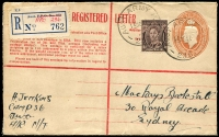 Lot 886 [2 of 6]:Eclectic Array of WWII Usages destinations, cachets, POW, etc, ex dealer stock, all with descriptions, priced to sell at $530. (21)