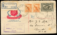 Lot 892 [2 of 8]:WWII FPO, Mil PO, Naval, Repatriation etc, covers, ex dealer stock, all with descriptions, priced to sell at $305. (55)