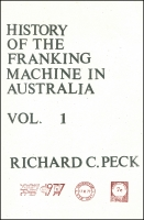 Lot 679 [4 of 4]:Modern Postal Cards, Aerogrammes and Meters in four albums/binders plus History of the Franking Machine in Australia, Vols 1 and 2 by Richard Peck (numbered limited editions of 200). c.8.4kg (qty)