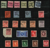 Lot 5 [2 of 3]:Bahamas 1863-1961 Collection on Hagners incl QV 1863-84 Cat £200 (10), 1931-46 3/- SG #132 Cat £32, 1938-52 KGVI 5/- red-purple & deep bright blue 5/- SG #156e (3, incl pair), 1953 CDS Cat £72, 1954-63 Definitives, two sets with duplication noting £1 values (3), min Cat £47. Then ranges of Ascension, Falkland Islands and Morocco Agencies (Spanish) noting 1899 1p SG #15 Cat £45. (200+)