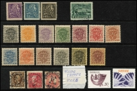 Lot 965 [3 of 6]:World Collections in 3 albums from earlies to modern, noted Greenland 1945 1ö, 5ö, 2k and 5k definitives VFU, Iceland 1940 10a and 25a P14 definitives, 1953 Manuscripts set and 1956 Waterfalls set all MUH, Norway 1953 Tourism set MUH, Sweden 1910-19 Officials set and 1921 400th Anniversary set MUH plus a bag with booklets, presentation cards, covers, etc, and a Faröes 1987 year book. Lastly a large book about the works of Czeslaw Slania (100s)