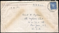 Lot 634 [4 of 5]:Netherlands East Indies 1945 Forces in NEI useful cover selection comprising 'A.I.F. FIELD P.O.' 53 and 54, 'FIELD POST OFFICE' 033 (registered - Proud Not seen) and 036, and 'AUST F.P.O./170' (lustful screenprint!), in use at Macasser, Celebes, Balikpapan, Morotai (Sabatai River), Tarakan, and Morotai, respectively, nice group for display. (5)