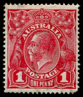 Lot 238 [2 of 2]:1d - 2d Specialised Collection on annotated pages with many mint and used listed varieties including, on 1d Red Saddle on Emu, Roo's tongue out, Secret Mark, NY joined also 6 examples of Tin Shed flaws, 1d Green Ash Imprint block of 4, 6 other **/* blocks, listed varieties incl PENAVY, Saddle on emu, Run N retouch, NY joined, 1½d Red varieties incl, Flaw on neck, Dot on head, Dot middle of head, 2d Red, Emu with medal, Double LIA of AUSTRALIA, Flaws 'S' of AUSTRALIA, large cat value, well worth inspecting. (62)